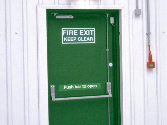 Commercial Fire Exit Doors