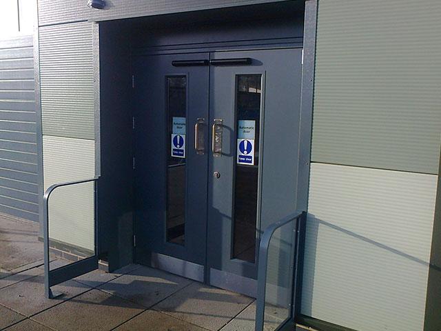 Commercial Steel Door Sets