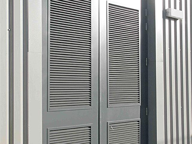 Industrial Steel Security Doors : Commercial steel security doors
