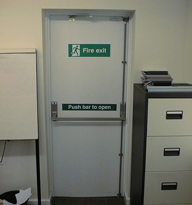 Industrial Fire Exit Doors