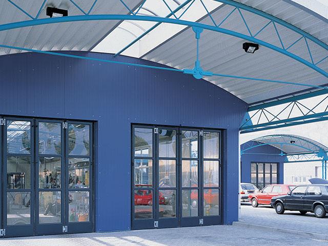 Industrial Bifold Doors : Appealing industrial folding door images plan d house