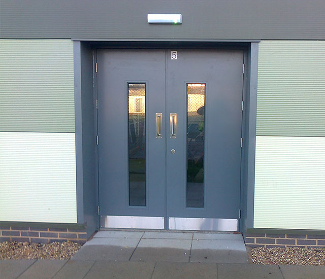 Industrial Steel Door Sets