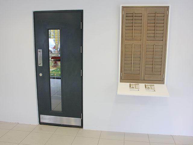 Industrial Steel Security Doors