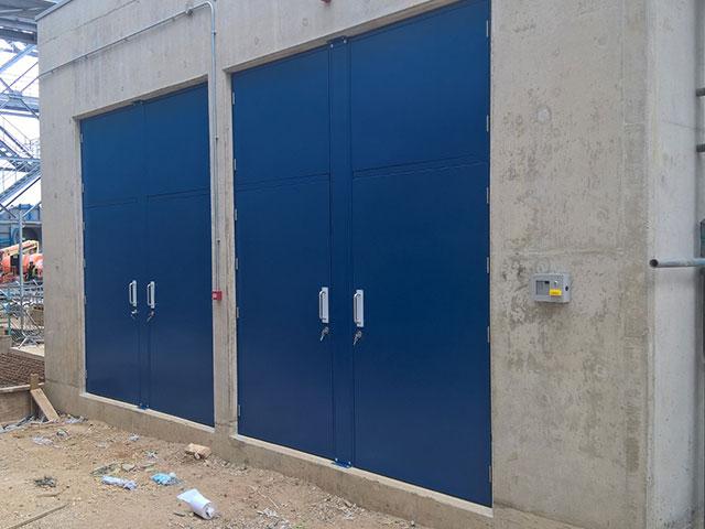 Industrial Steel Security Doors : Industrial steel security doors