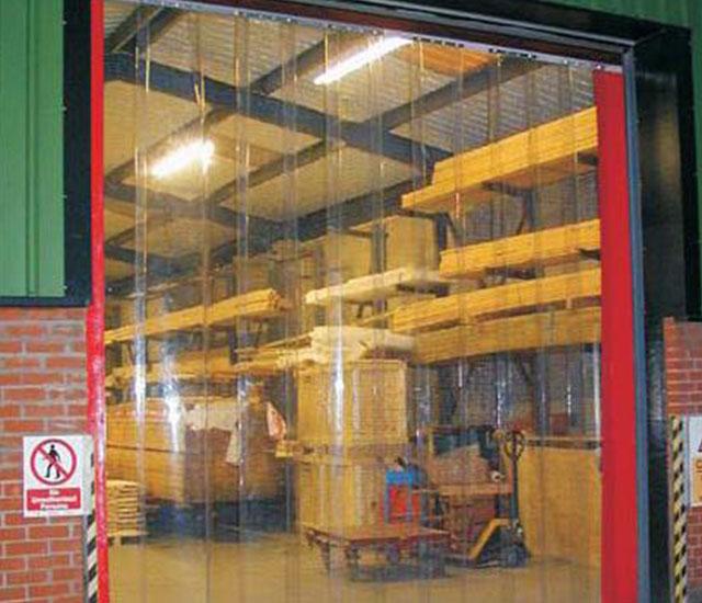 Warehouse Strip Curtains