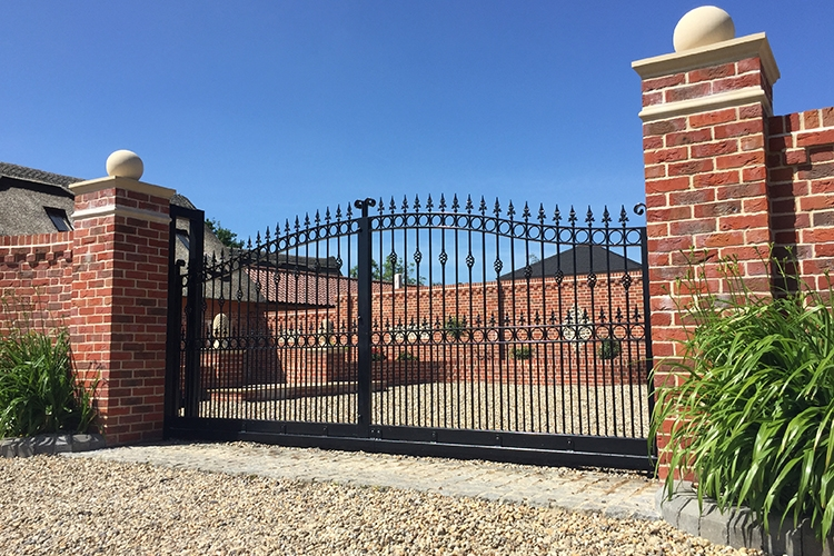 Automatic Gate Installed by Cooks Doors
