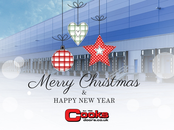 Merry Christmas from Cooks Doors