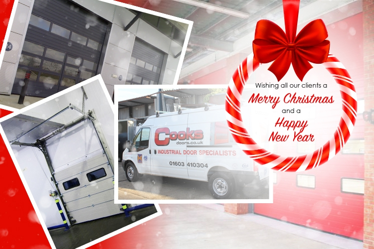 Merry Christmas 2018 from Cooks Doors