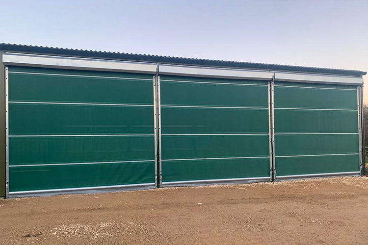 Galebreaker Agridoor roller doors installed for Diss Steel Engineering Firm
