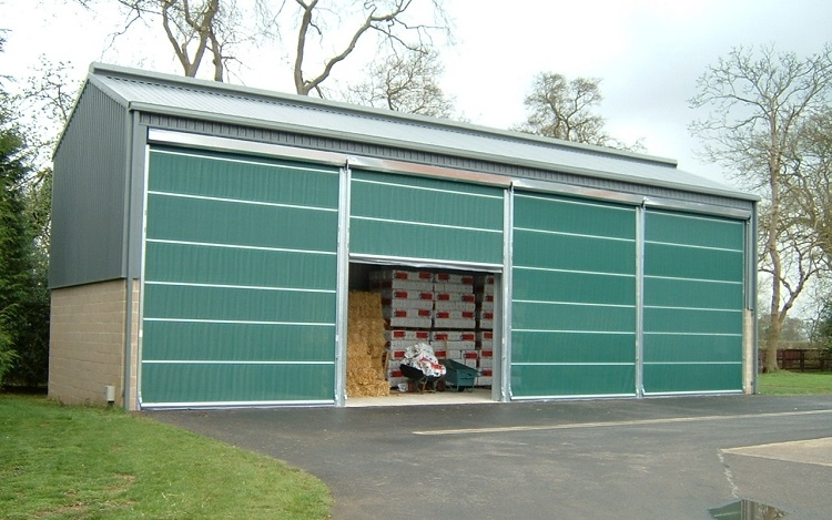Galebreaker Agridoor for Store Barn