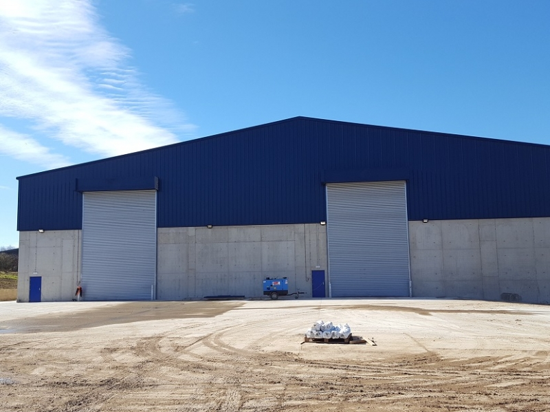 Titan Doors Hand Built for the Ipswich Grain Terminal