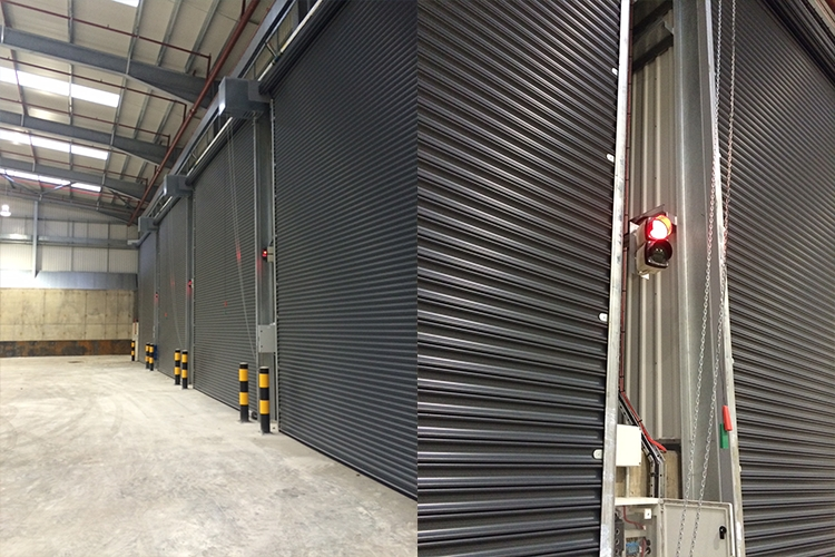 Safety features of roller shutter doors