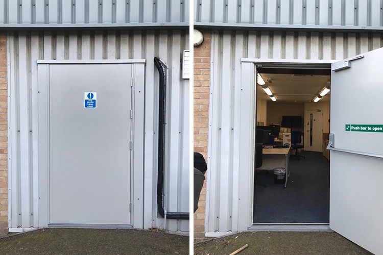 Steel Door set for Wex Photo Video