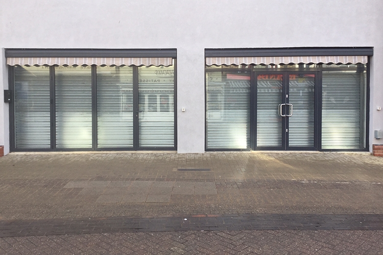 Steelguard roller shutters by Cooks Doors