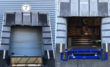 Before and After Dock Leveller Installation at Sealeys