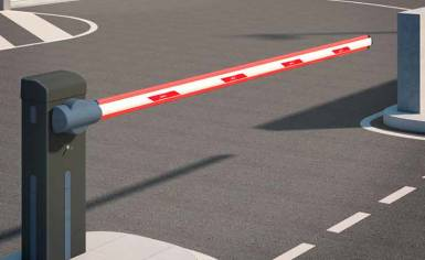 BFT automated road barrier