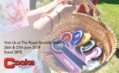 Cooks Doors at the Royal Norfolk Show 2019