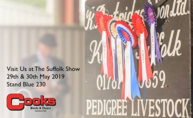 Cooks Doors at the Suffolk Show 2019
