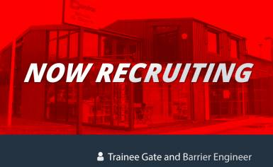 Trainee Gate and Barrier Engineer Recruitment