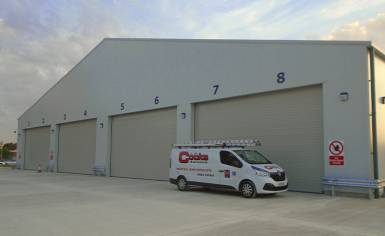 cooks doors open for orders of industrial doors