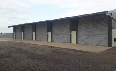 Five Steel Doors and Shutters Installed at Cambridge Farm