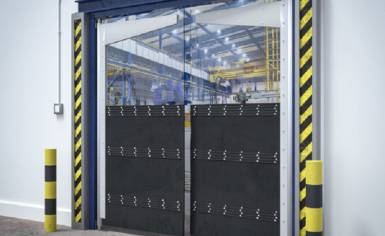 Heavy Impact Crash Door for Forklift Trucks