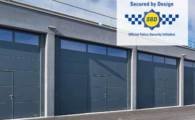Secured by Design Award for SPU F42 and SPU 67 Doors