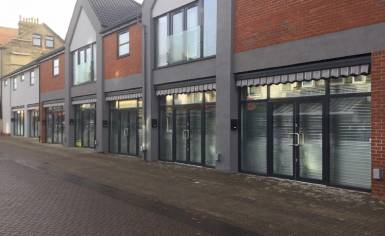 Roller Shutters for New Shops on Great Yarmouth's Regent Road