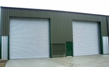 Titan Roller Shutter Doors made in Norwich