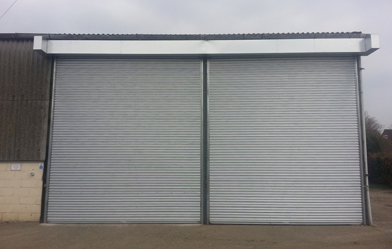 The Heavy Duty Titan Roller Shutter Door