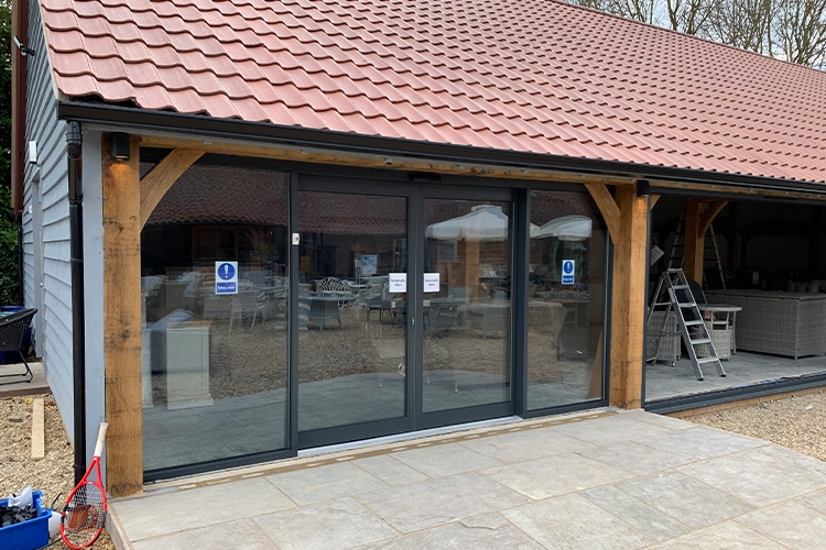Willingham Auction House Automatic Doors by Cooks Doors